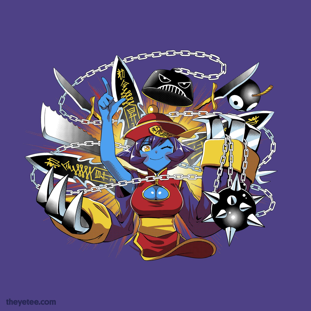 The Yetee: Weapon Shop