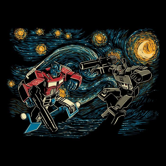 Once Upon a Tee: Starry Battle