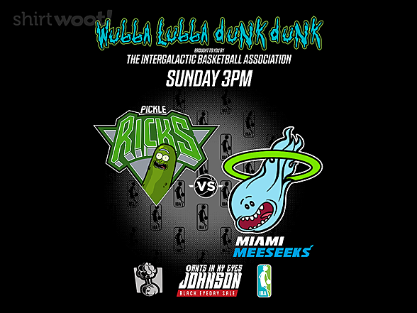 Woot!: Pickle Ricks vs Miami Meeseeks