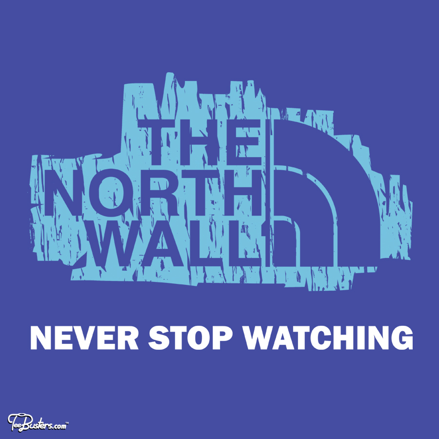 TeeBusters: the north wall