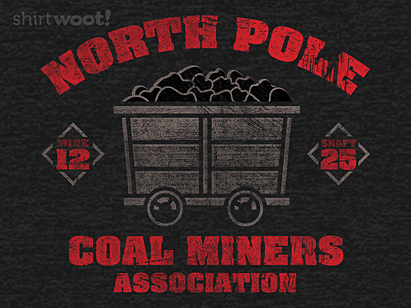 Woot!: North Pole Coal Miners