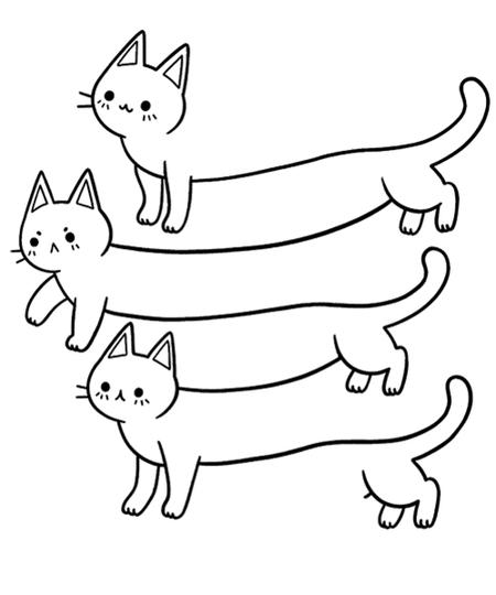 Qwertee: Illusion of Cats