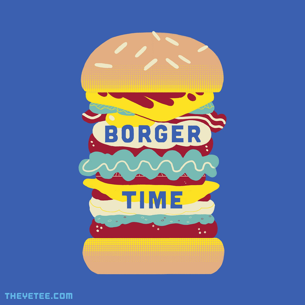 The Yetee: Borger Time