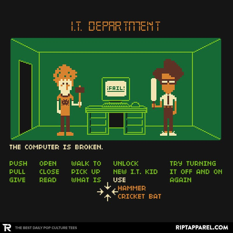 Ript: Maniac IT Department