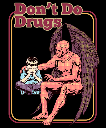 Qwertee: DON'T DO DRUGS