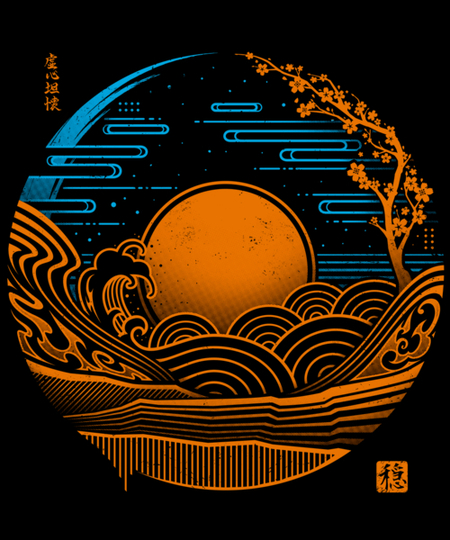 Qwertee: Japan Chillout