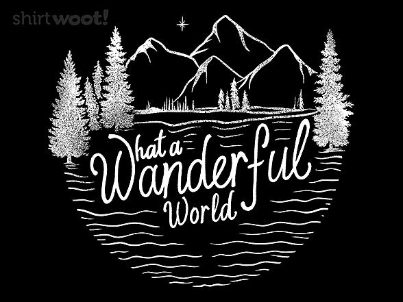 Woot!: What A Wonderful World