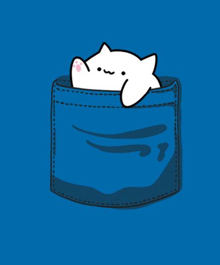Qwertee: Pocket Cat