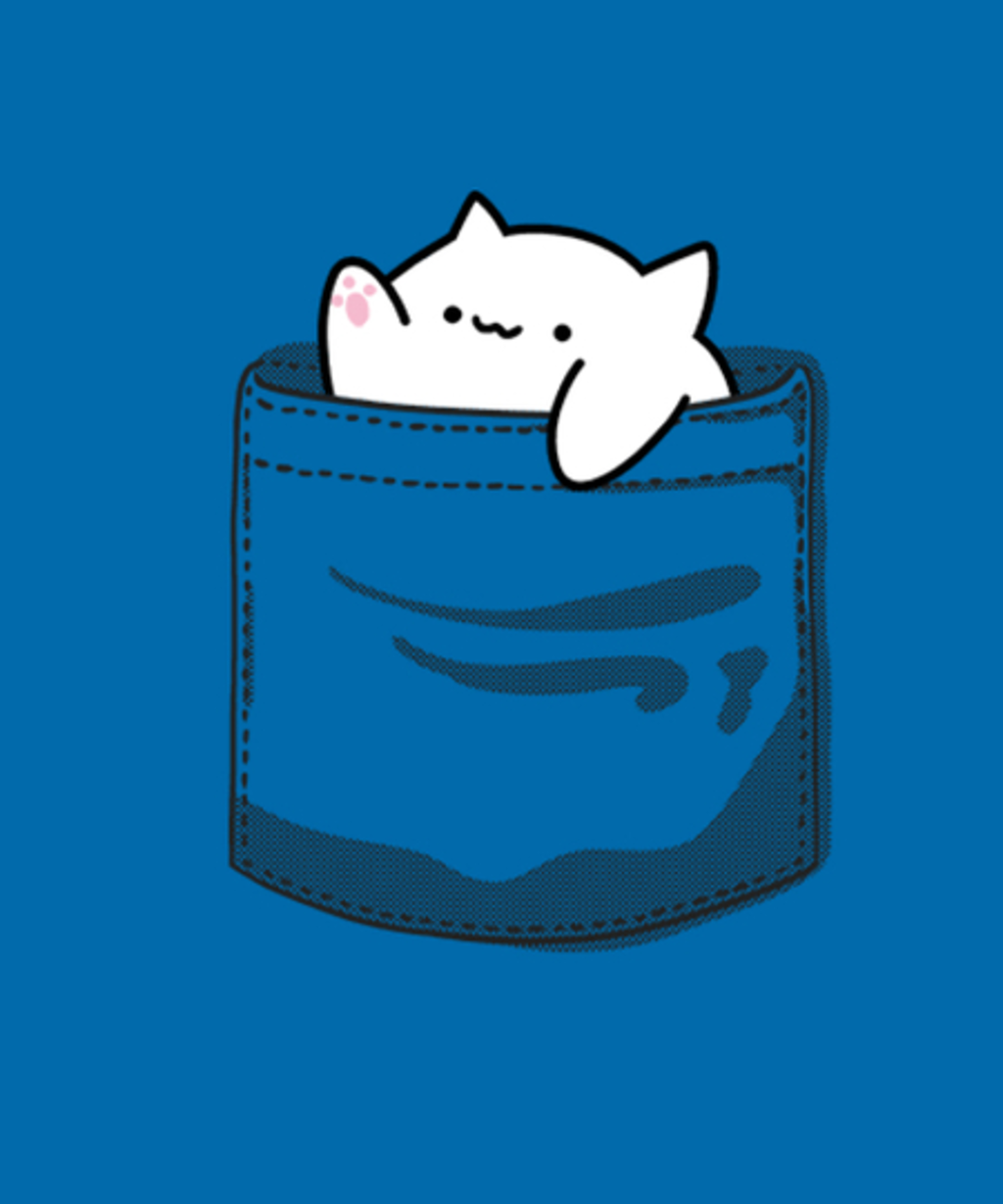 Qwertee: Pocket Cat