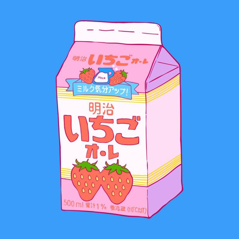 Threadless: Strawberry Milk Forever