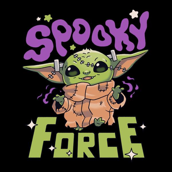 NeatoShop: Spooky Force Halloween Baby Yoda