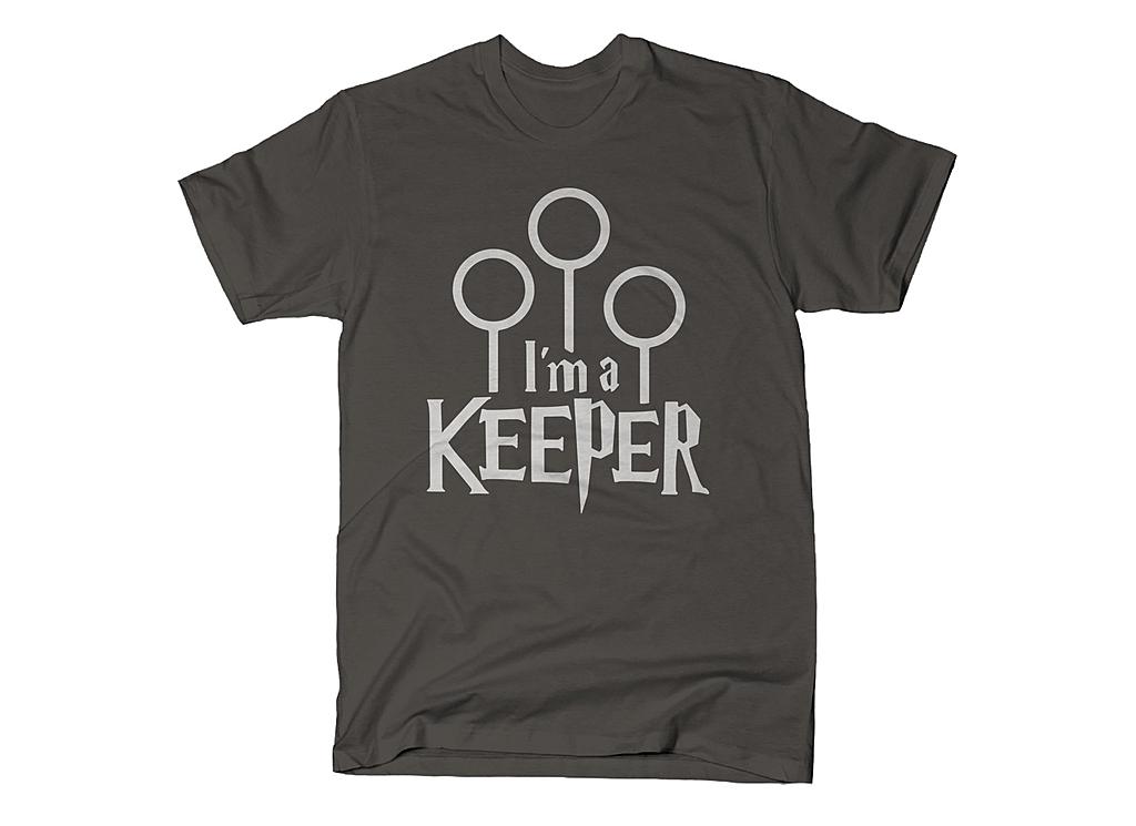 SnorgTees: I'm A Keeper