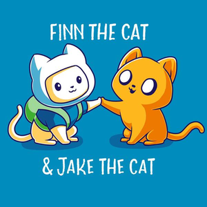 TeeTurtle: Finn the Cat & Jake the Cat