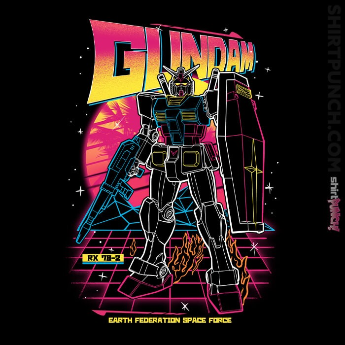 ShirtPunch: 80s Retro RX-78-2