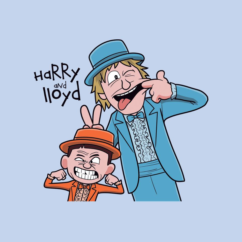 TeeFury: Harry And Lloyd