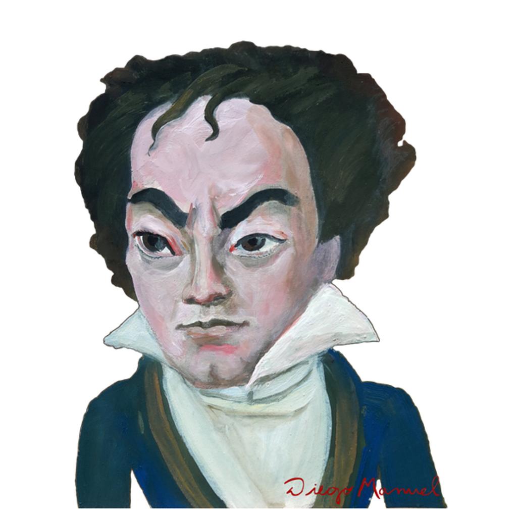 NeatoShop: Ludwig van Beethoven portrait b