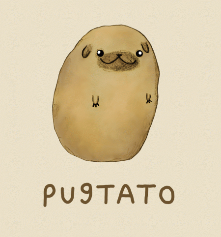 BustedTees: Pugtato
