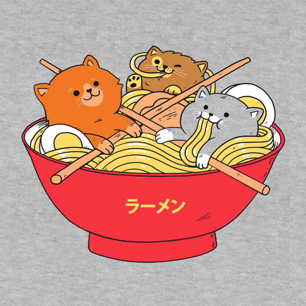 Pampling: Ramen And Cats