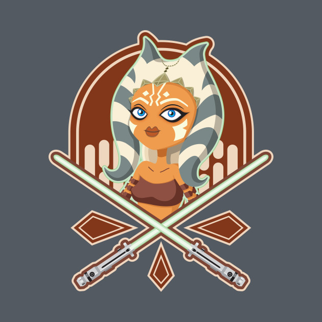 TeePublic: Ahsoka the padawan