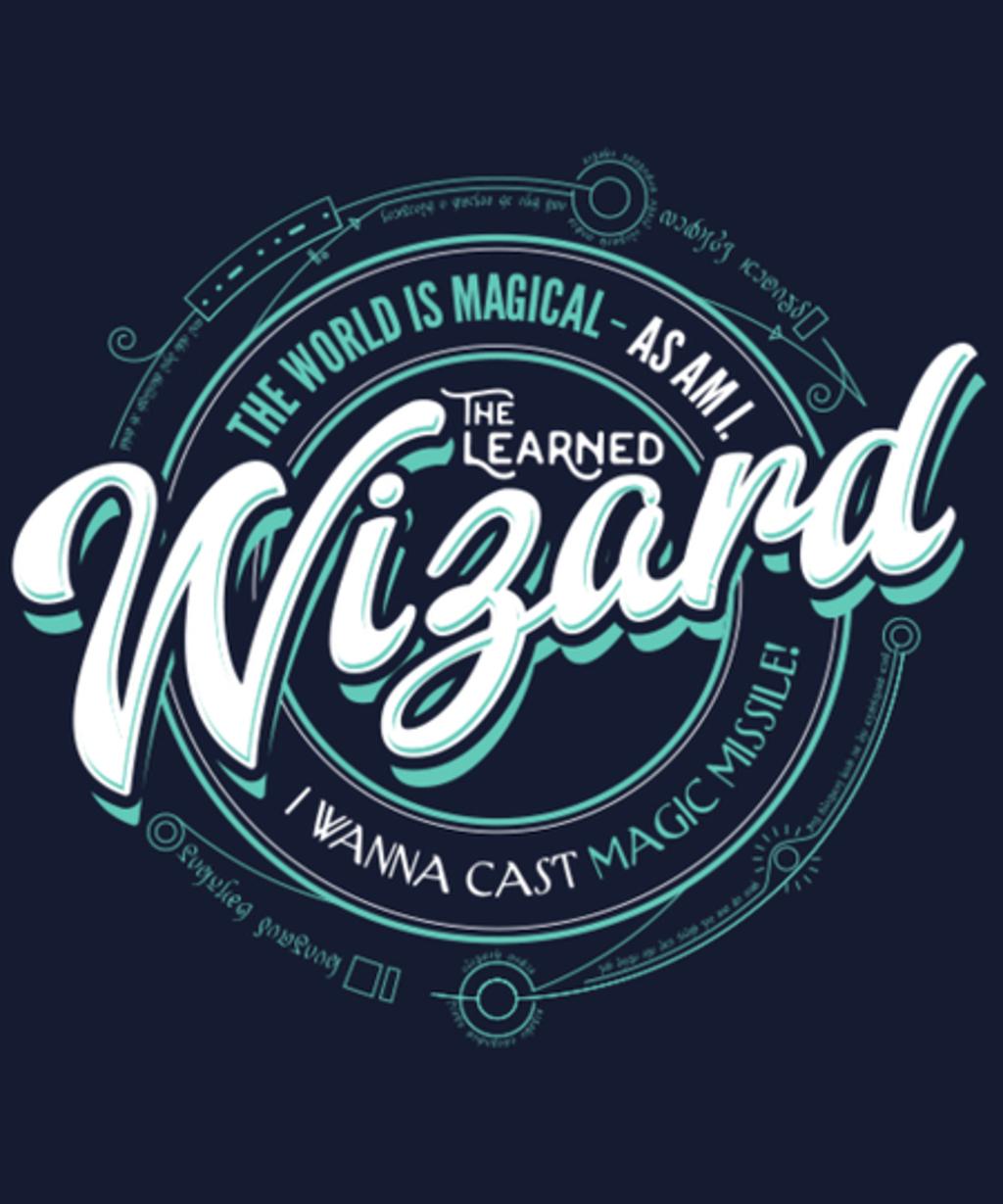 Qwertee: Wizard