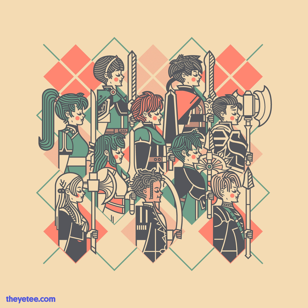 The Yetee: 10 Lords A-Leading