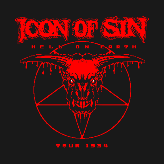 TeePublic: Icon of Sin - Tour 1994