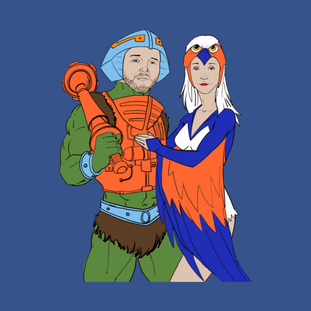 TeePublic: POWER Couple