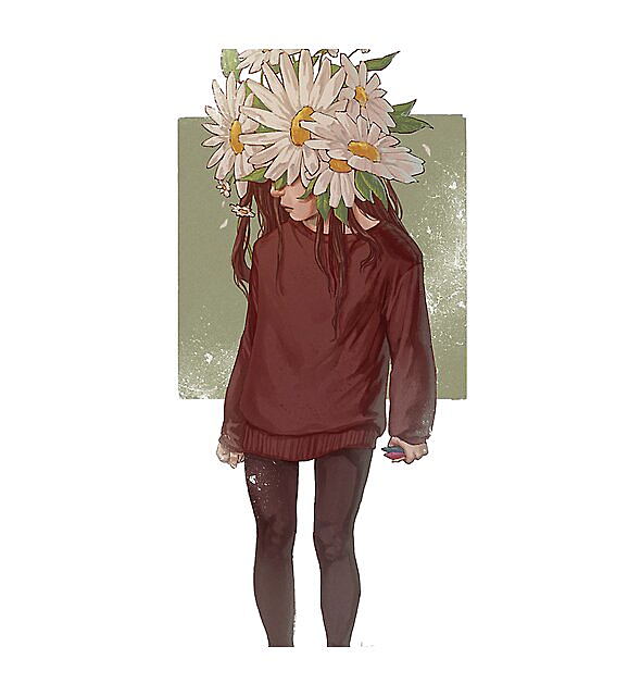 RedBubble: care and the daisies