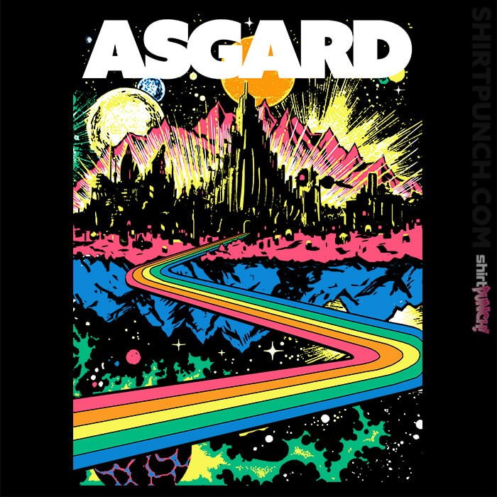 ShirtPunch: Visit Asgard