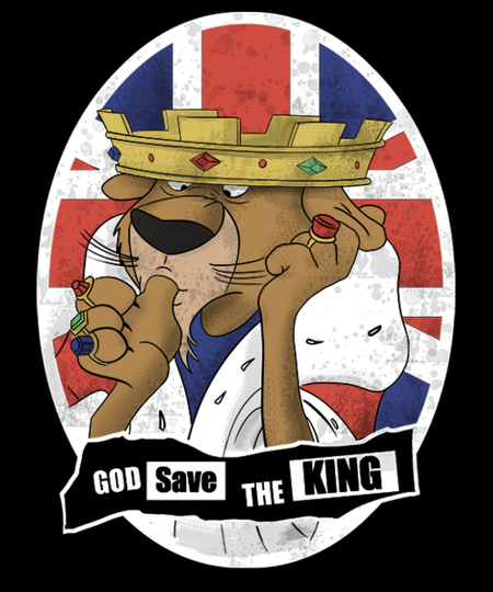 Qwertee: God Save the King