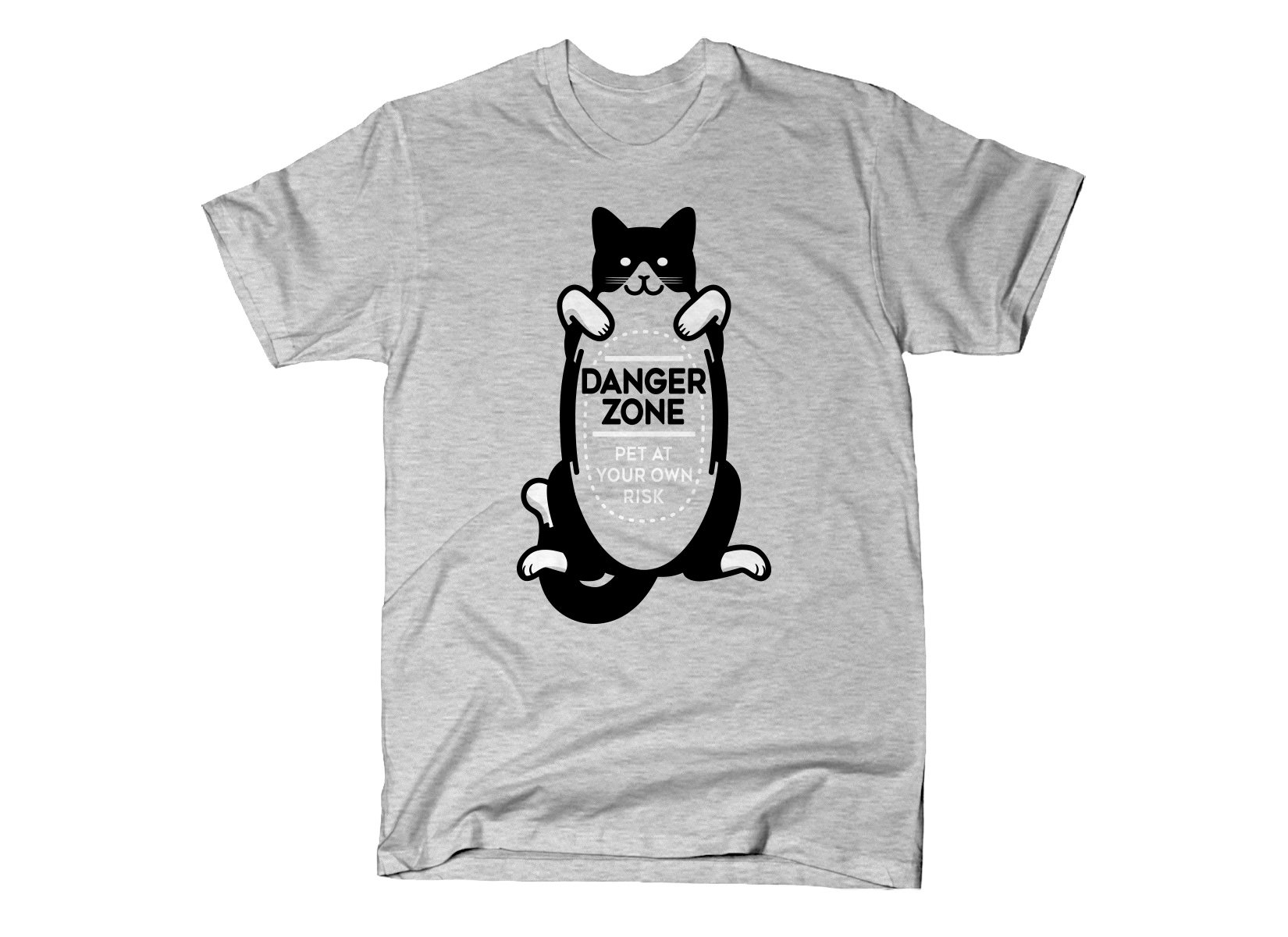 f94c153cd Cat Danger Zone from SnorgTees | Day of the Shirt