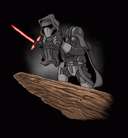 BustedTees: The Darth King