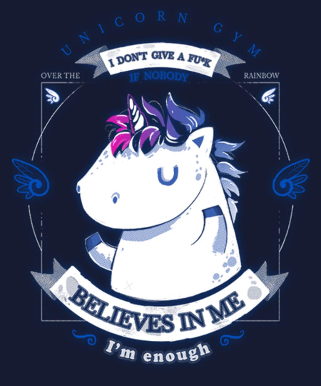 Qwertee: Believe in yourself!