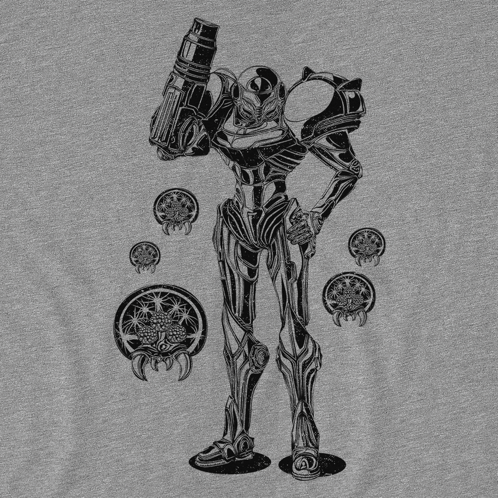 Pop-Up Tee: Vintage Metroid