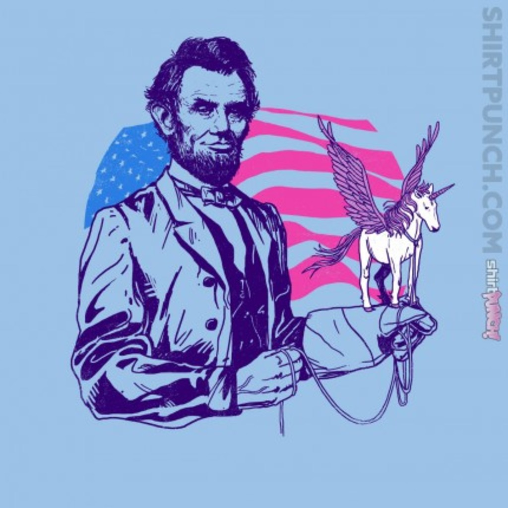 ShirtPunch: Pegacorn Lincoln