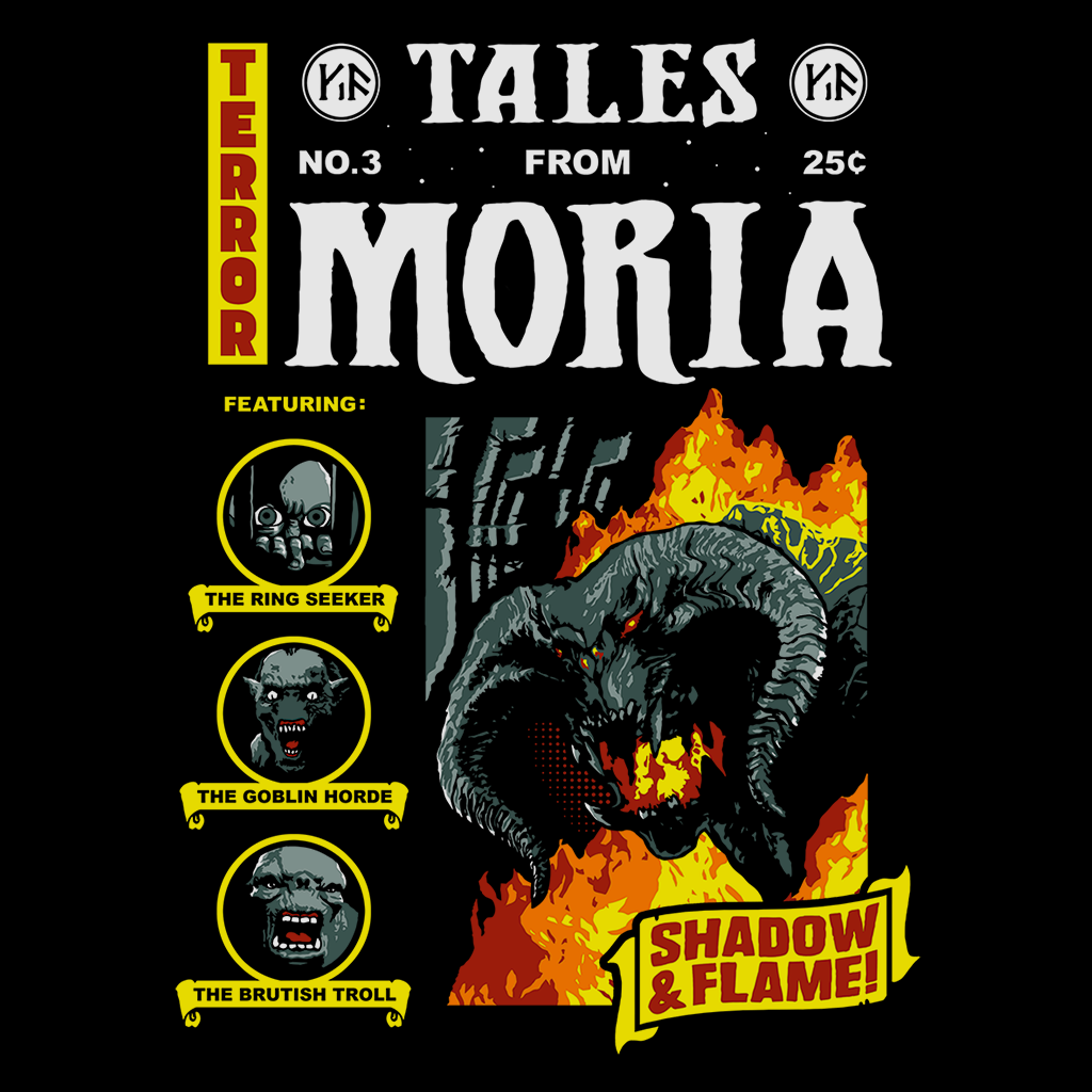 Pop-Up Tee: Moria