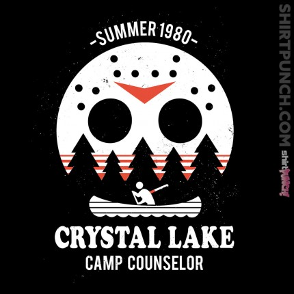 ShirtPunch: Crystal Lake Camp Counselor