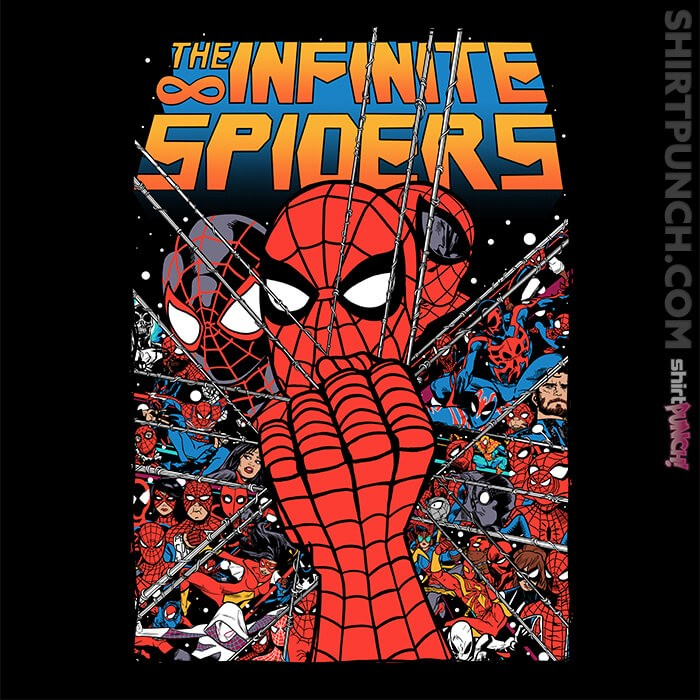 ShirtPunch: The Infinite Spiders