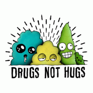BustedTees: Drugs Not Hugs