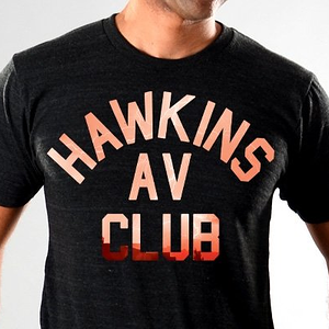 SnorgTees: Hawkins AV Club Limited Edition Tri-Blend