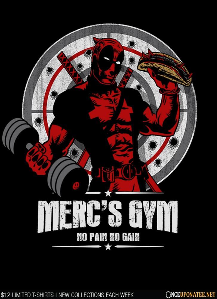 Once Upon a Tee: Merc's Gym