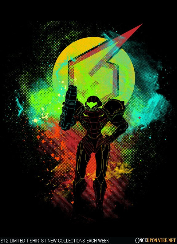 Once Upon a Tee: Samus Art