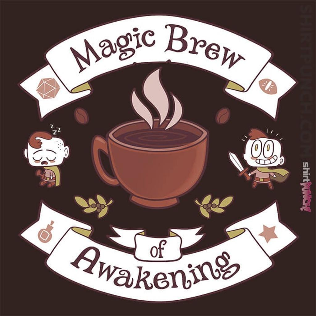 ShirtPunch: Magic Morning Potion