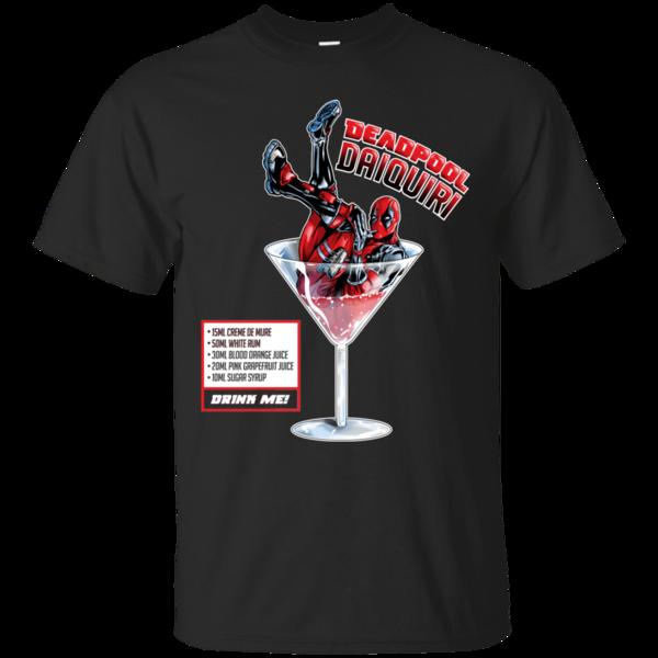Pop-Up Tee: Deadpool Daiquiri