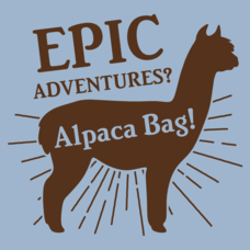 Textual Tees: Alpaca Bag
