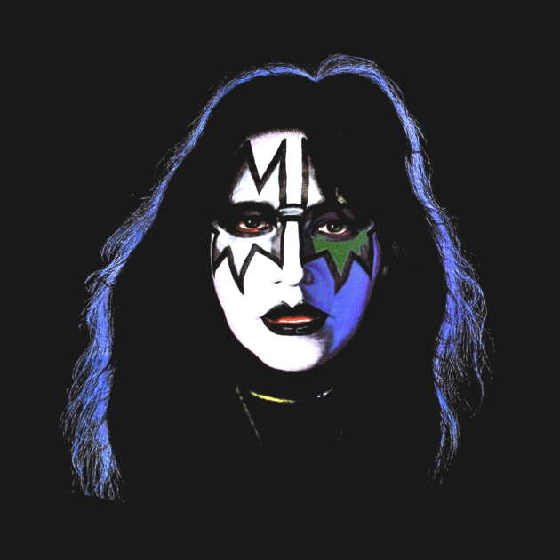 TeePublic: Lover Spaceman Space Ace Frehley KISS Rock Band