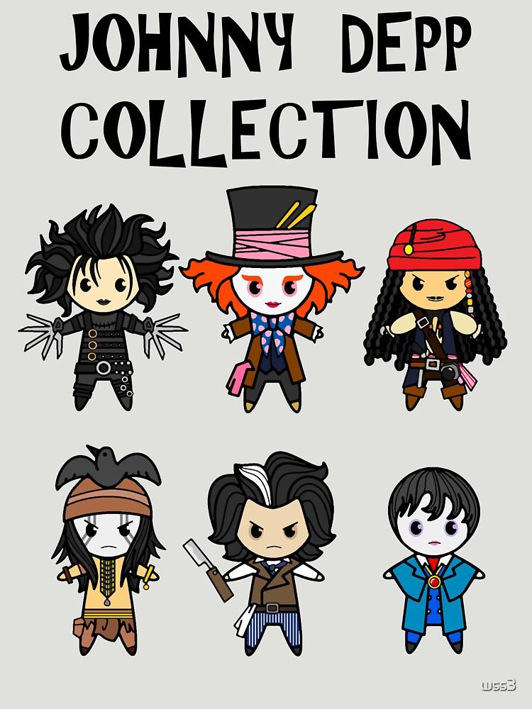 RedBubble: Depp Collection