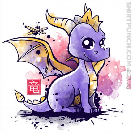 ShirtPunch: The Dragon And The Dragonfly