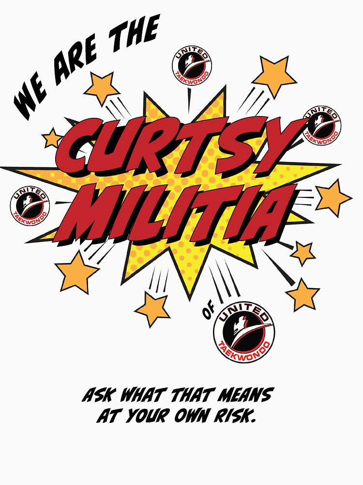 RedBubble: Curtsy Militia