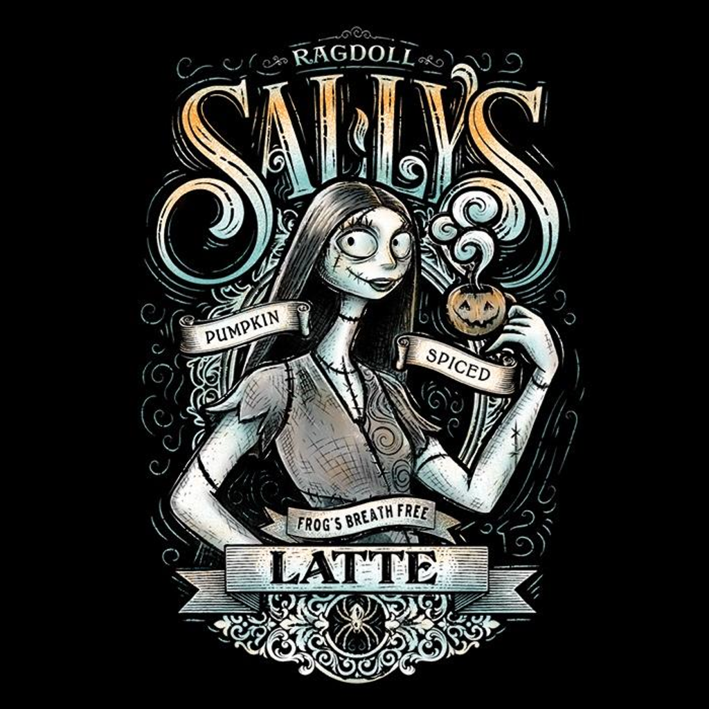Once Upon a Tee: Ragdoll Sally's Latte